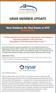 GRAR Member Update May 21 2021